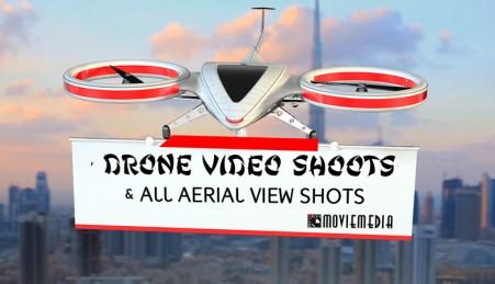 Aerials using drones